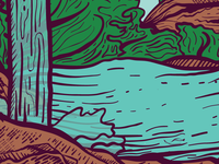 State Park Illustrations - Series WIP 3