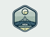 New Horizons Mission Badge