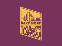 Baltimore Badge