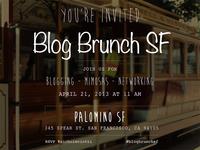 Blog Brunch SF Invite