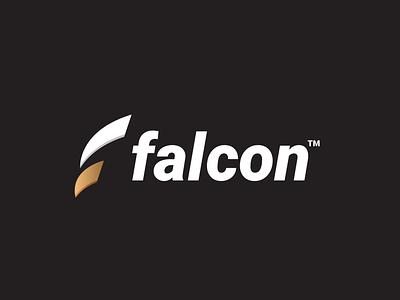 falcon apparel clothes fly bird falcon monogram clever creative simple minimal logo