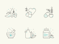 Health / Natural Icons