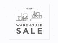 Waggo Warehouse Sale Illustration