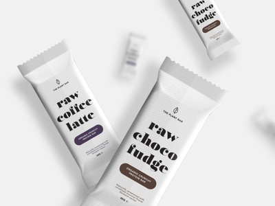 Protein bar packaging and visual identity