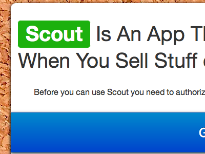 Scout Teaser