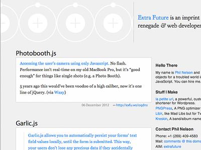 """extrafuture.com Wordpress theme """"Herenow"""" wordpress blog theme"""