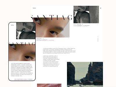 NOVA — Style Frames // 005 website mobile minimal ui design branding product design figma flat ux design web design user interface design ui
