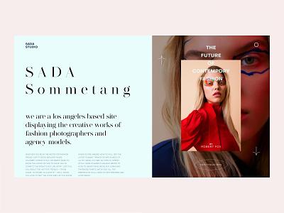 SADA Sommetang — Style Frames // 002 web interface design fashion clean ui flat figma daily challenge ux design daily ui challenge uiux web design user interface design ui