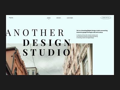 SASO — Concept landing page // 001 user interface design architecture productdesign website design landing pages website concept uiux photography design design studio clean typogaphy interface