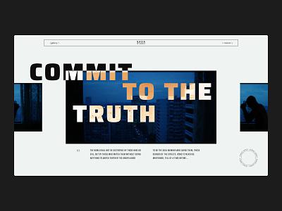 Sada Studio — Concept landing page // 005 radial product design figma sans serif scroller layout exploration typography art typogaphy bold ui gallery portrait layout design layout portfolio