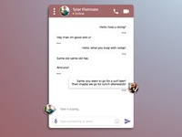 Daily UI Challenge #013 - Social Messaging