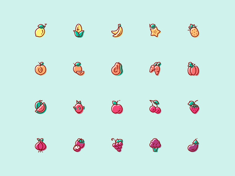 Ngthuyan14   fruit   vegetable icon   free download