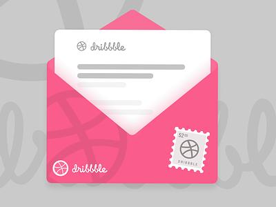 One Dribbble Invite! invites invite design illustration