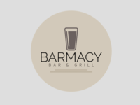 Barmacy Bar & Grill Logo Concept