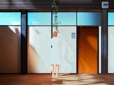 Room Study cocept art colours concept shadows digital art vector illustration
