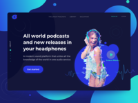 Podcasts service