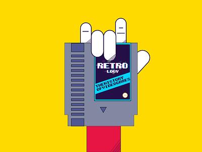 Retrock ! pacman videgames retrogaming pixelart gamedesign logo illustration games supermario link 2dillustration nintendo zelda dribbble shot