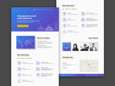 Team Portfolio Landing Page