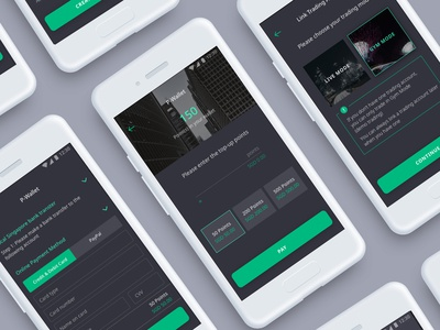 Forex Trading App UI