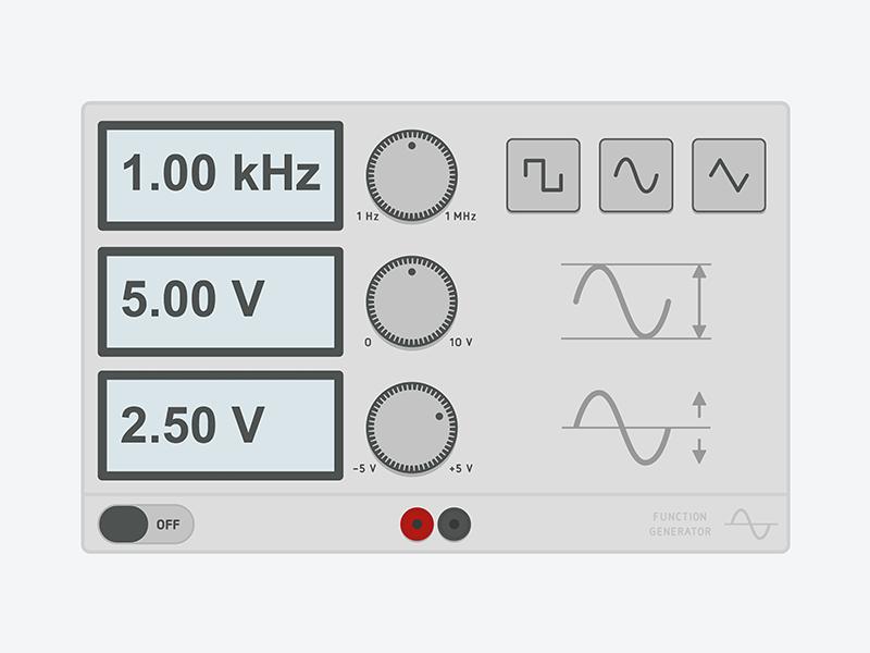 Function Generator electronics