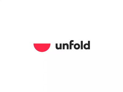 I've Joined Unfold 🍉 logo branding unfold prototype product design design new job figma animation