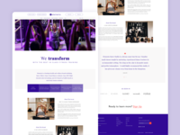 Elements Fitness - Homepage