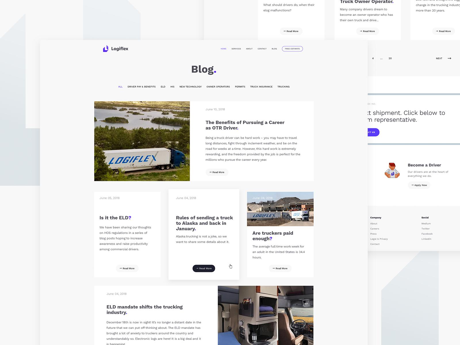 Logiflex blog wip