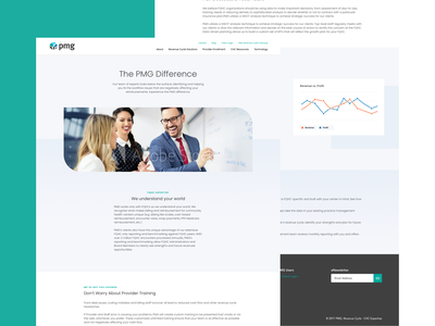 PMG About whitespace health doctor healthcare interface product design mock-up gradient experience about us web landing minimal ux web design landing page website ui