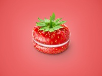 Srawberry Macaron