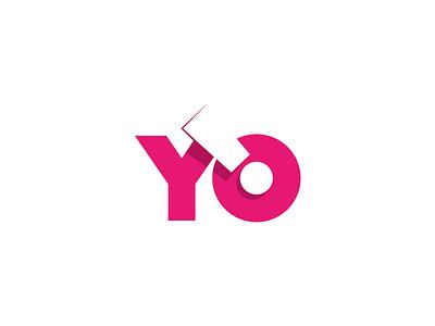 Yo yo logo pink loud
