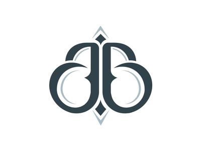 jb logo by jacek bernatek dribbble