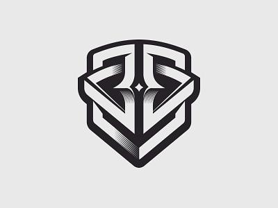 JB logo 3d bw symbol 3d bernatek jacek b j jb logotype logo