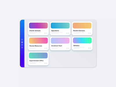 Organize your Departments ux ui after effects gif app ux motion design animation web animation bodymovin lottiefiles