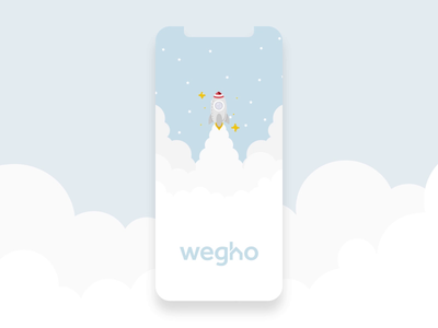Wegho Welcome Splash Screen Animation