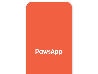PawsApp Welcome Animation