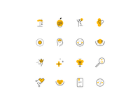 Weight in Mind — Icon set