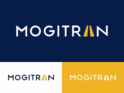 Mogitran Brand typography logo logotipo logotype logotype design design graphic  design branding