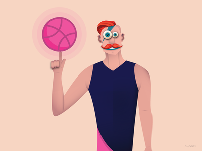 First Shot In Dribbble