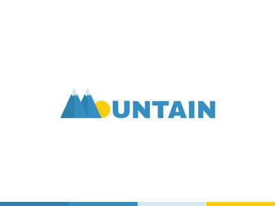 Mountain Room logo design bingo room sunshine logo vector bingo mountain