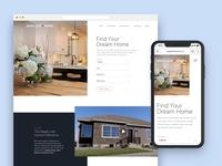 Maple Leaf Homes – Site Design