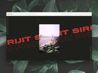 Portfolio Site Concept 🌿