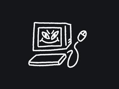 The Family PC 💾 illustration procreate animation