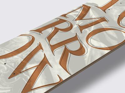 Tomorrow Skate Graphic 🛹✨ typography branding design skateboarding