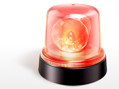 alarm lamp c4d alarm red lamp alart