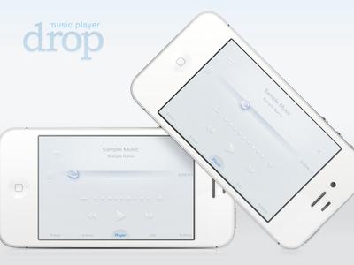 Drop Music Player App water music drop player app emi