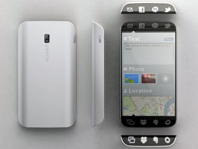 Smartphone for User Efficiency _02 smartphone phone ui concept