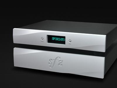 SFORZATO DSP-Vela industrial product design audio