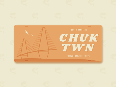 Chucktown Plate