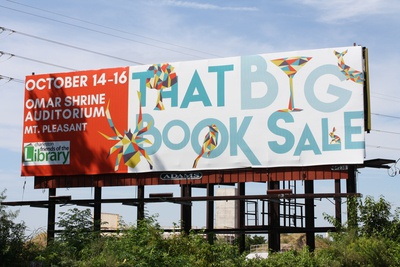 That Big Book Sale Billboard