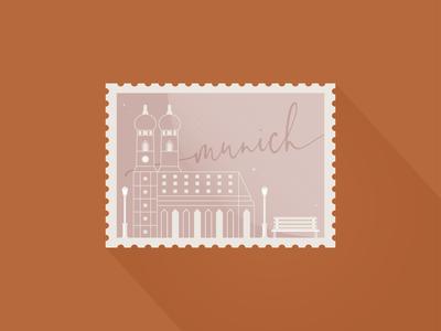 Weekly Warm-Up - Munich Stamps